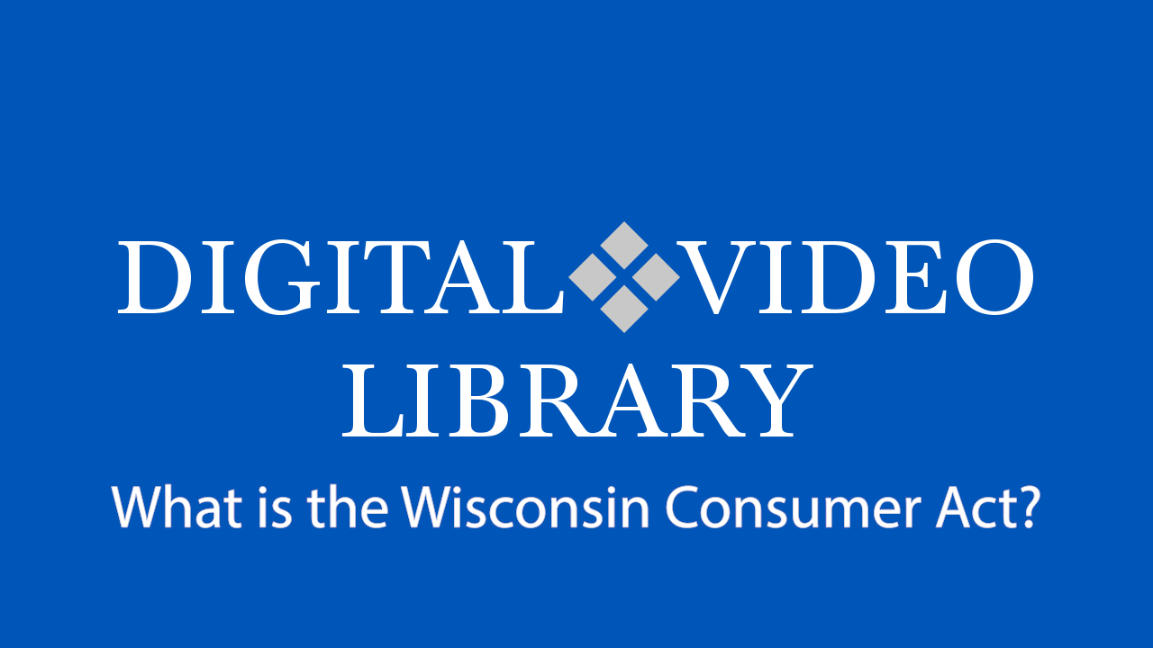 What is the Wisconsin Consumer Act?